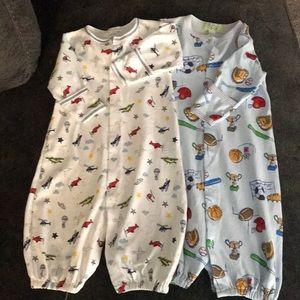 Set of two baby sleepers